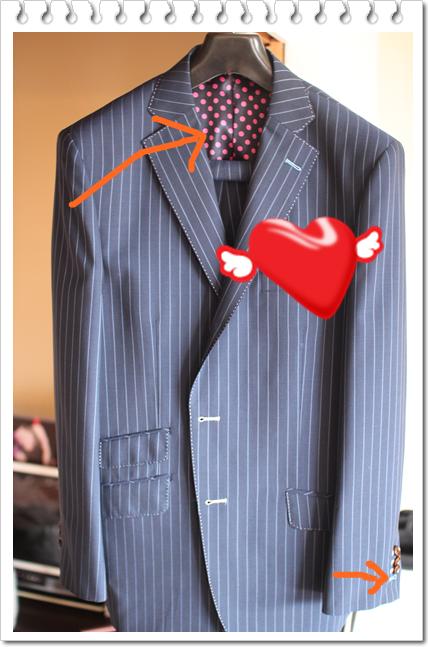 スーツを新調しました