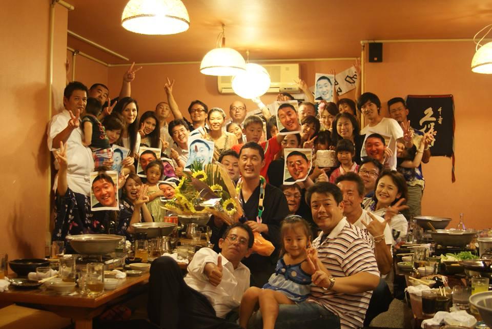 2013年の宮野誕生日 集合写真