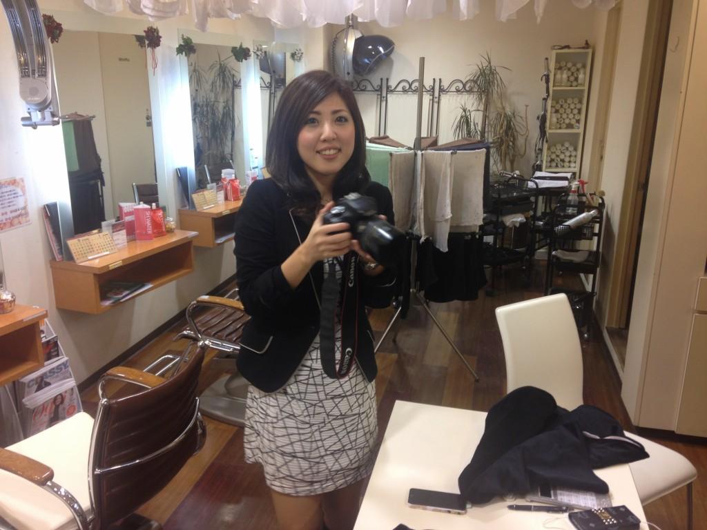 美容室ルーシアの田中さん